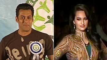 Video : Salman piles on the pounds, Sonakshi vs Sonam