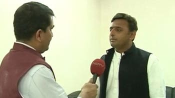 Video : We will decide on alliances once we know the numbers: Akhilesh to NDTV