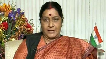 Video : Mid-term elections are likely, says Sushma Swaraj