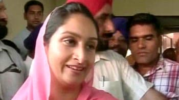 Video : Thank the people of Punjab: Harsimrat Kaur