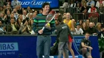 Video : When McIlroy played tennis vs Sharapova
