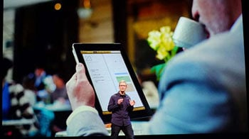 Video : Apple's Cook lifts lid on newest, 4G-powered iPad