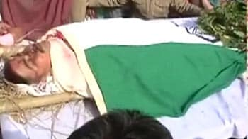Video : IPS officer crushed to death: Heartbroken family bids farewell