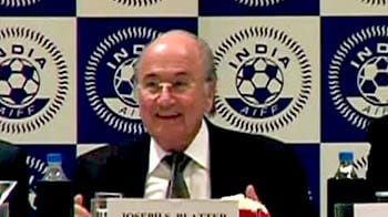 Sleeping giant India waking up: FIFA chief Blatter