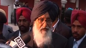 Video : Parkash Singh Badal invites UPA allies to his swearing-in ceremony