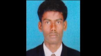 Video : Sand mafia in Tamil Nadu? Man run over by mini-truck carrying sand