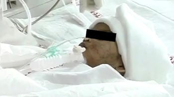 Video : Baby Falak, age two, dies of heart attack in hospital in Delhi