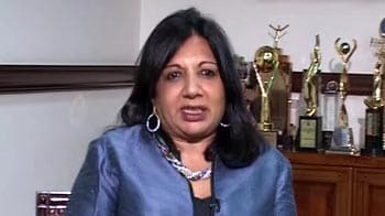 Video : I'm not disappointed because I never expected anything, says Kiran Majumdar Shaw