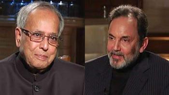 Video : Pranab Mukherjee on Budget 2012