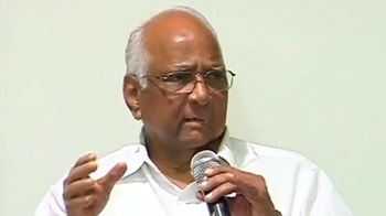 Video : Pained by the Prime Minister's statement on allies, says Sharad Pawar