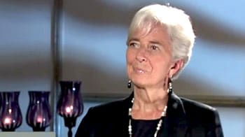 Video : We have avoided derailment of recovery process in Europe: Christine Lagarde