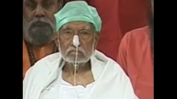 Video : स्वामी सानंद ने अनशन तोड़ा