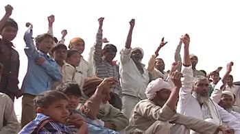 Video : Haryana land acquisition: Minority community protests unequal compensation