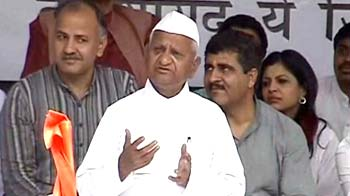 Video : Bring Lokpal Bill or go, Anna Hazare tells government