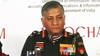 Video : Army Chief blames 'rogue elements' for trying to cause 'schism' with govt