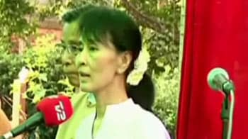 Video : India can never do enough to help cause of democracy in Myanmar, says Suu Kyi