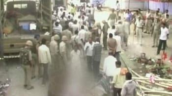 Video : Etawah: 2 killed in gunbattle at religious site