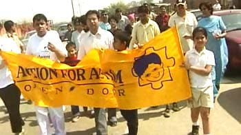 Video : March in Mumbai to mark World Autism Awareness Day