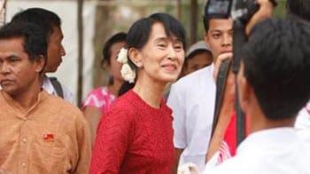 Video : Democracy not irreversible: Suu Kyi to NDTV