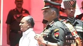 Video : Defence Minister, Army Chief attend memorial for Sam Manekshaw together