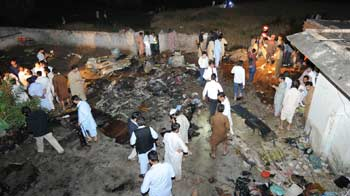 Video : Bhoja Air plane crash kills 127 in Pakistan; black box found