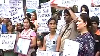 Video : Peace march in Delhi for Ansh Agarwal