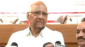 Video : Pawar says next President should be non-political as no party has numbers