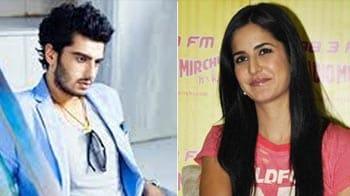 Video : Katrina, Arjun Kapoor's 'rakhi' sister?