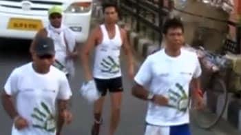 Video : Milind Soman completes 540 km