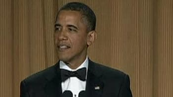 Video : Obama, funny guy at White House correspondents' dinner