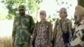 Video : BSF women personnel gun down Pakistani intruder in Punjab