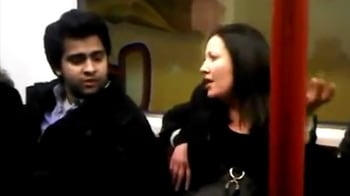 Video : Video of woman abusing Asian-origin man goes viral