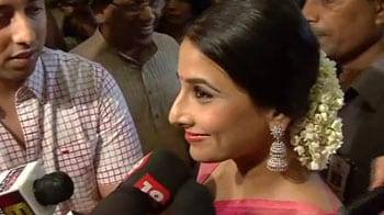 Video : Vidya in Delhi to collect National Award