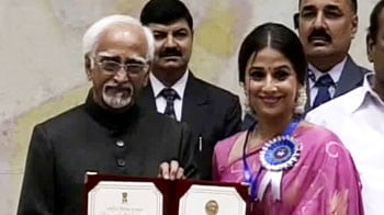 Video : Vidya's big day: A National Award and a 'clean picture'