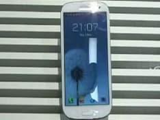 Samsung Galaxy S III unveiled in London