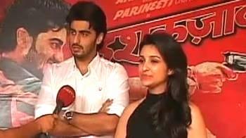 Video : Arjun, Parineeti talk about <i>Ishaqzaade</i>