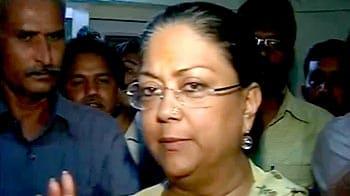 Video : Yatra rift ignites full-scale war in Rajasthan BJP