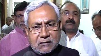 Video : Arrest of alleged terrorist violates all norms, says upset Nitish Kumar
