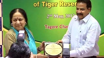 Video : Tiger parks get awards