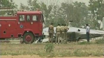 Video : How Munda's chopper crash landed