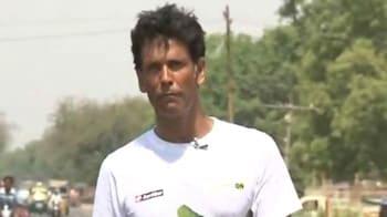 Video : Milind Soman's Green Run covers 1152 km in three weeks