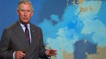 Video : Prince Charles turns weatherman for Scotland