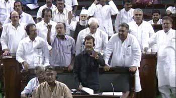 Video : Uproar in Parliament over cartoon of Nehru-Ambedkar in government textbook