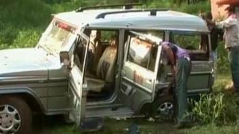 Video : Six CISF personnel, one driver killed in Maoist ambush in Chhattisgarh