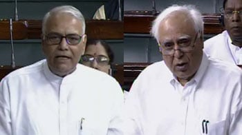 Video : MPs back withdrawal of disrespectful cartoons; Sibal promises inquiry