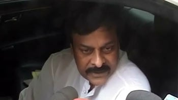 Video : 35 boxes with 35 crores have no link to me, says Chiranjeevi