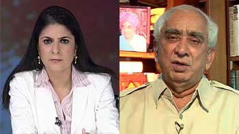 Video : Cartoon row: Don't understand what the fuss is about, Jaswant Singh tells NDTV