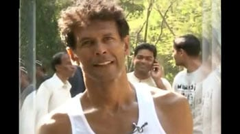 Video : Milind's Green Run within touching distance of 1500-km target