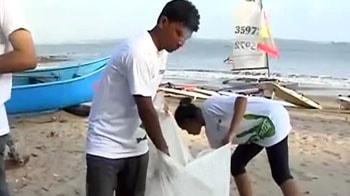 Video : Greenathon 4: 'Clean-up beaches' campaign begins in Goa
