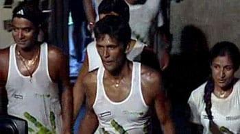 Video : Milind Soman completes incredible 1500-km 'Green Run'